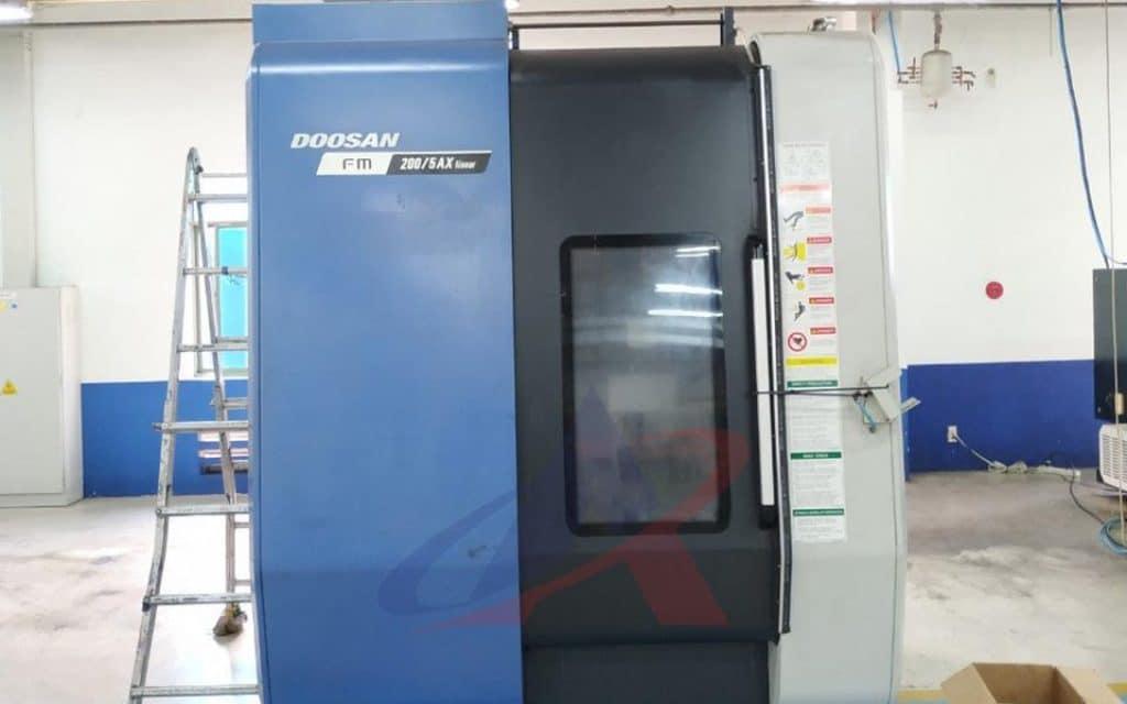 dịch vụ di dời máy móc - dự án di chuyển máy CNC