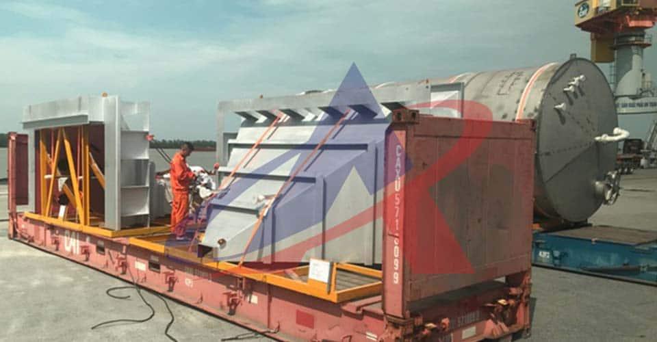 dịch vụ khai hải quan hải dương - hàng nhập cont flat rack